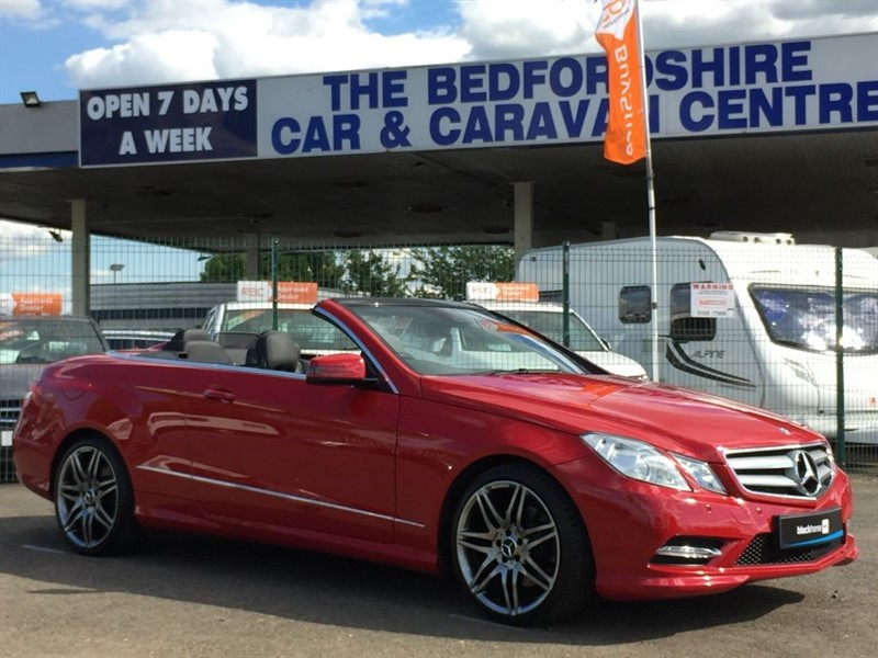 used Mercedes E250 CDI BLUEEFFICIENCY CABRIOLET SPORT in sandy-bedfordshire