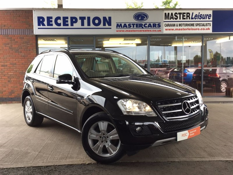 used Mercedes ML300 CDI BLUEEFFICIENCY SE in sandy-bedfordshire