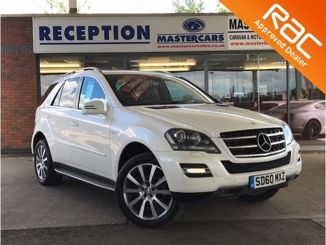used Mercedes ML350 3.0 CDI BLUEEFFICIENCY GRAND EDITION - Finance for only £88 pw in sandy-bedfordshire