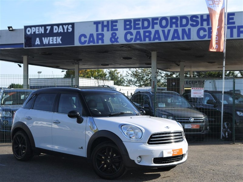 used MINI Countryman COOPER D CHILI  ALL4 in sandy-bedfordshire