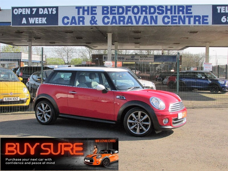 used MINI Cooper LONDON 2012 SPECIAL EDITION in sandy-bedfordshire