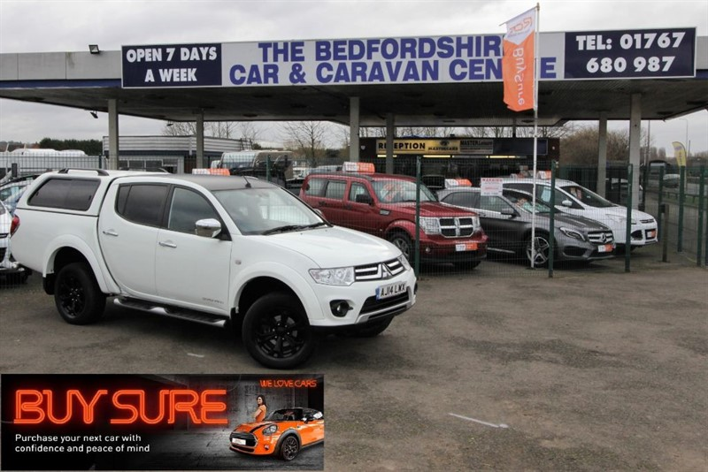 used Mitsubishi L200 BARBARIAN For Sale in sandy-bedfordshire