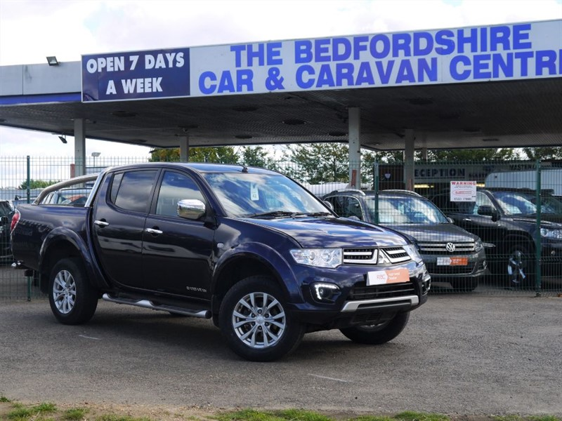 used Mitsubishi L200 DI-D 4X4 BARBARIAN  NO VAT in sandy-bedfordshire
