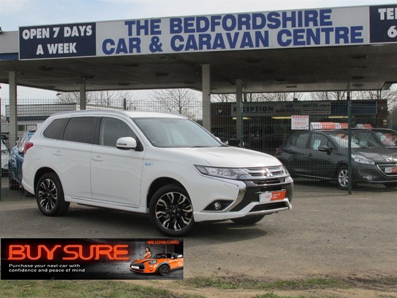 used Mitsubishi Outlander PHEV GX3h plus in sandy-bedfordshire