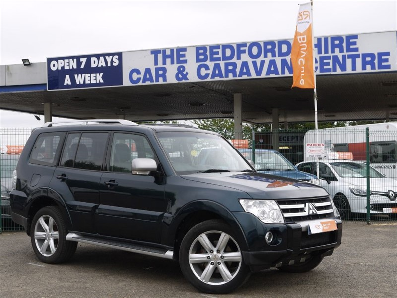 used Mitsubishi Shogun GLS DIAMOND LWB DI-D in sandy-bedfordshire