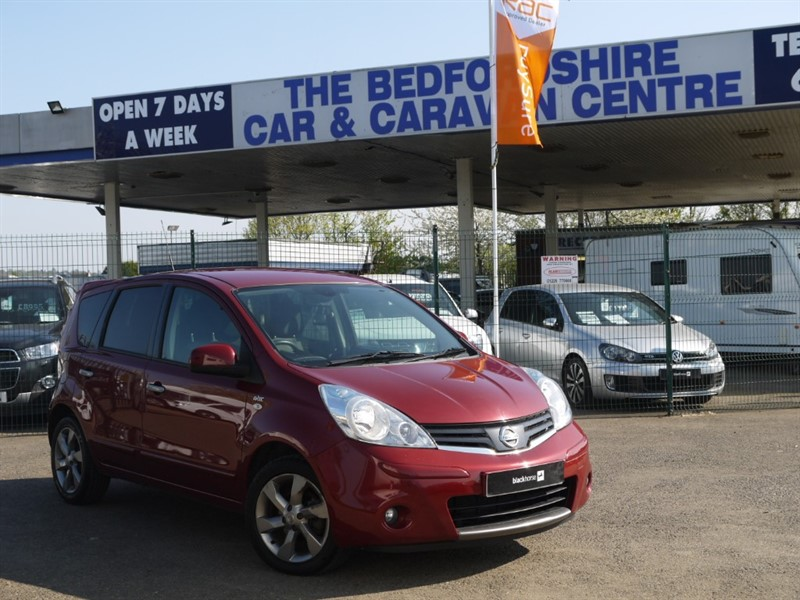 used Nissan Note N-TEC  AUTO, LOW LOW MILES &  ULEZ CHARGE FREE in sandy-bedfordshire