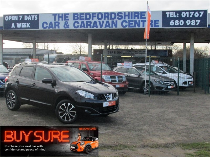 used Nissan Qashqai N-TEC PLUS DCI in sandy-bedfordshire