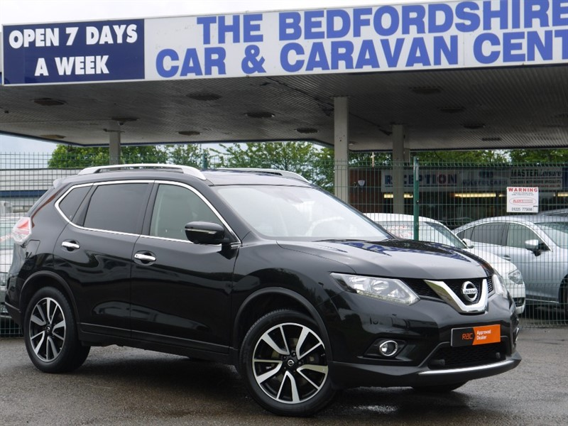 used Nissan X-Trail DCI N-TEC - 7 seats - 57 mpg in sandy-bedfordshire