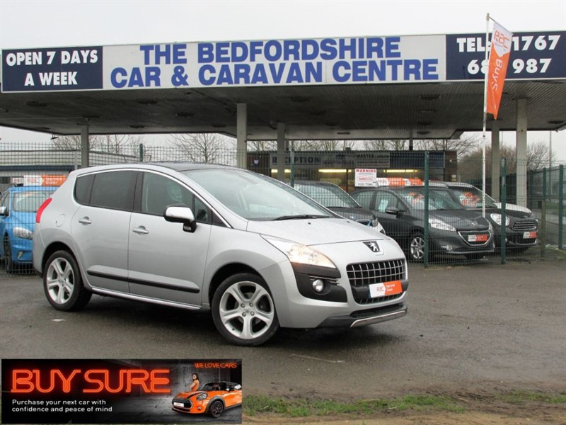 used Peugeot 3008 ALLURE E-HDI FAP in sandy-bedfordshire