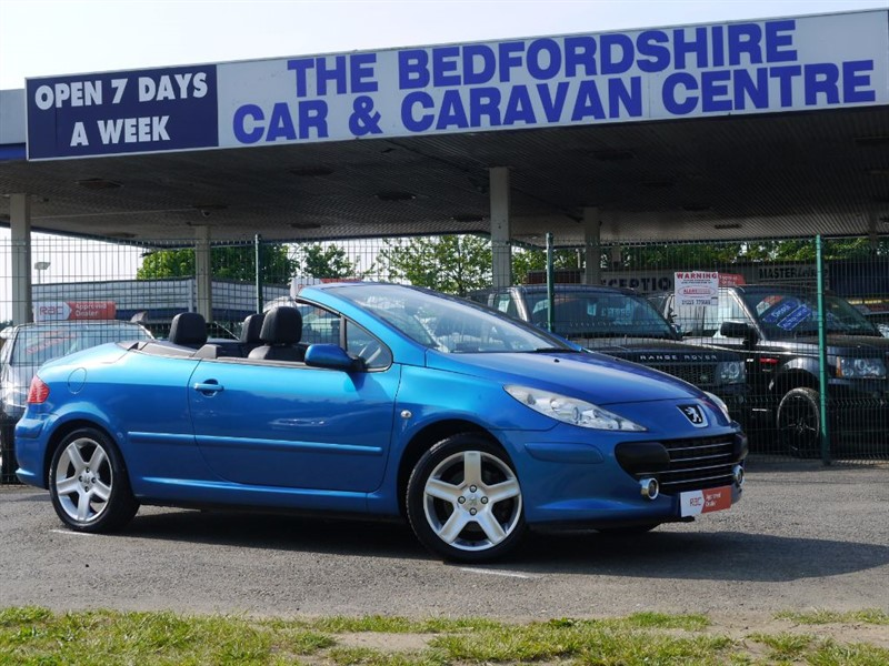 used Peugeot 307 COUPE CABRIOLET SPORT FOR SALE in sandy-bedfordshire