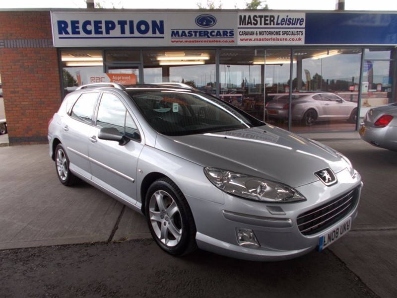 used Peugeot 407 SW GT HDI in sandy-bedfordshire