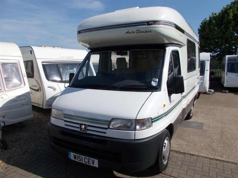 used Peugeot Boxer Autosleeper Executive 2.5 Diesel 2berth in sandy-bedfordshire