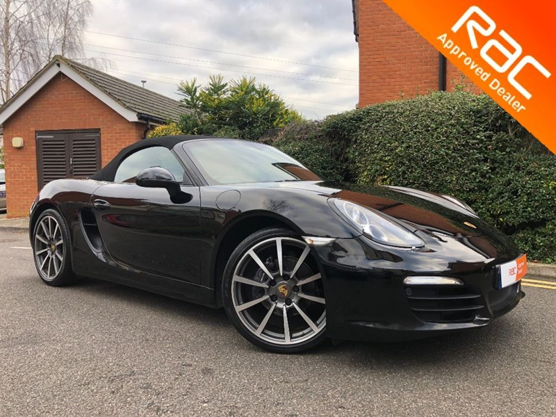 used Porsche Boxster 24V BLACK EDITION in sandy-bedfordshire