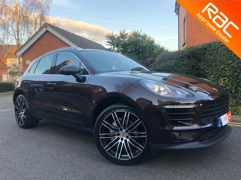 used Porsche Macan D S PDK in sandy-bedfordshire