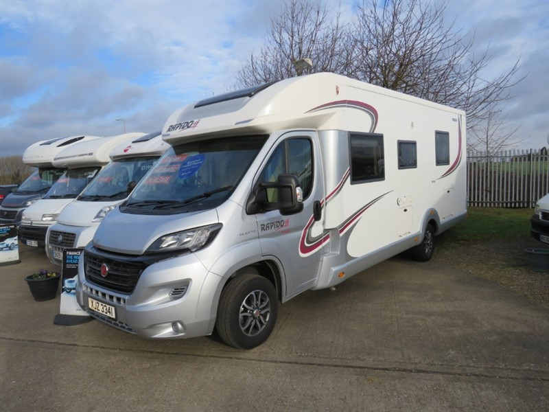 used Rapido Series 70FF Auto 4/6 Berth Twin Singles Large End Bathroom in sandy-bedfordshire