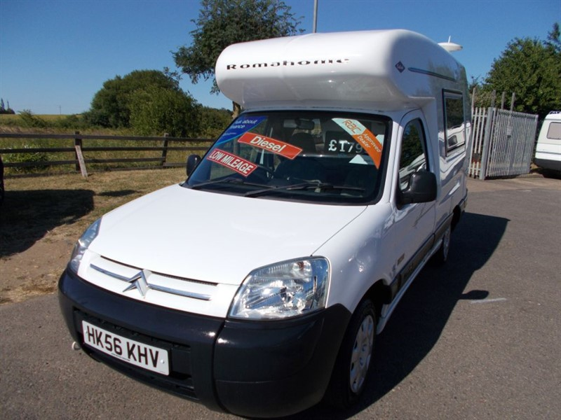 used Romahome  Outlook Citroen Diesel in sandy-bedfordshire