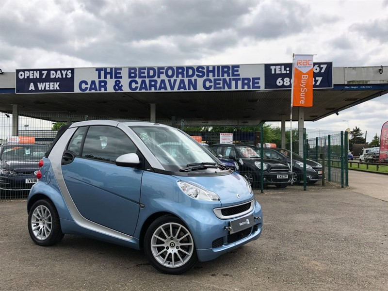 used Smart Car Fortwo Cabrio PASSION MHD in sandy-bedfordshire