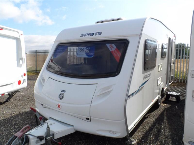 used Sprite  Major 5 Berth Great Family Van in sandy-bedfordshire