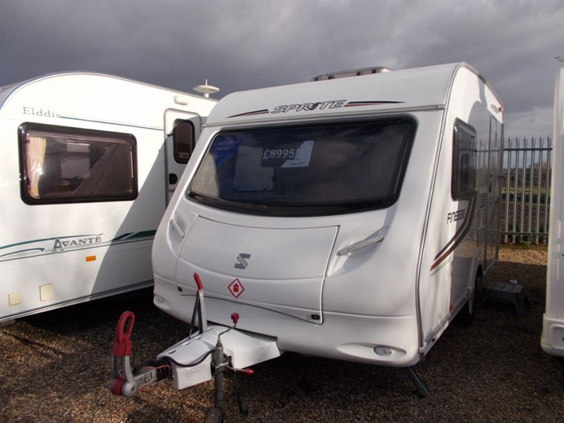 used Sprite  Finesse 2 Berth End Kitchin in sandy-bedfordshire