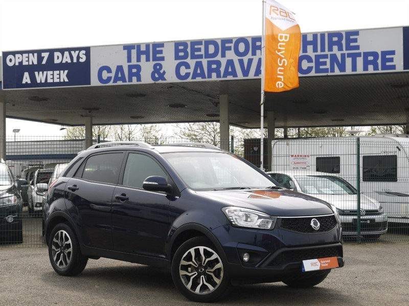 used Ssangyong Korando ELX - ONE OWNER LOW MILES 4X4 - in sandy-bedfordshire