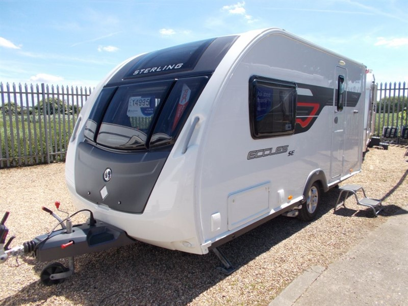 used Sterling  Sterling Eccles Topaz 2 Berth in sandy-bedfordshire