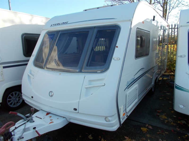 used Sterling Eccles Moonstone  4 berth side dinette Large end bathroom in sandy-bedfordshire