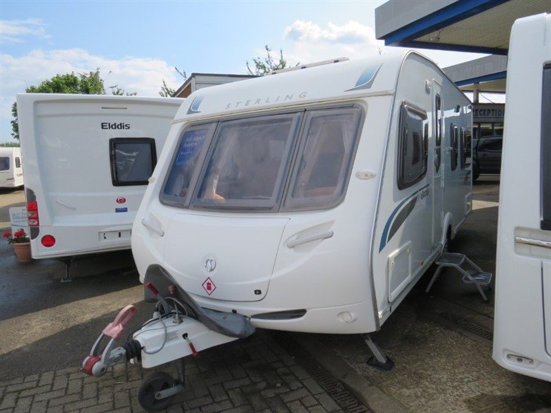 used Sterling Eccles  Jewel Fixed Bed 4 berth with Motor Mover in sandy-bedfordshire