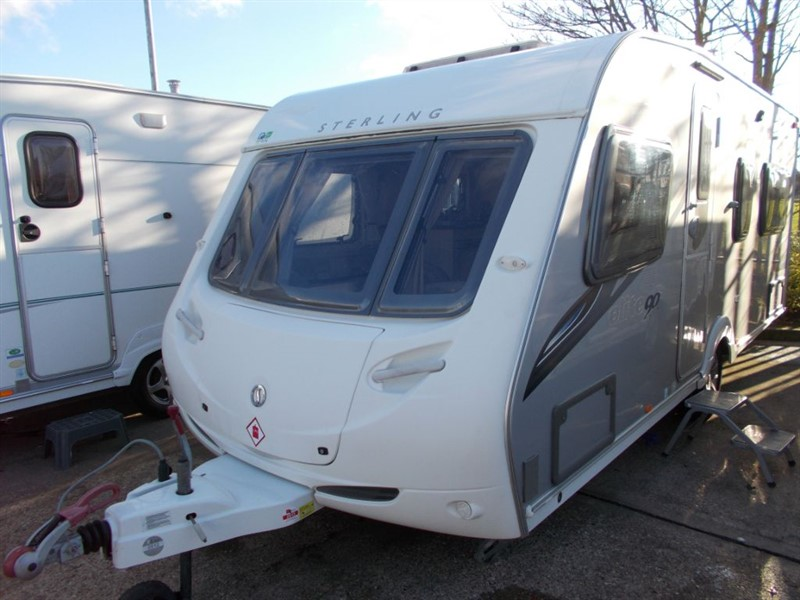 used Sterling Eccles  ONYX ELITE Fixed bed 4 berth in sandy-bedfordshire
