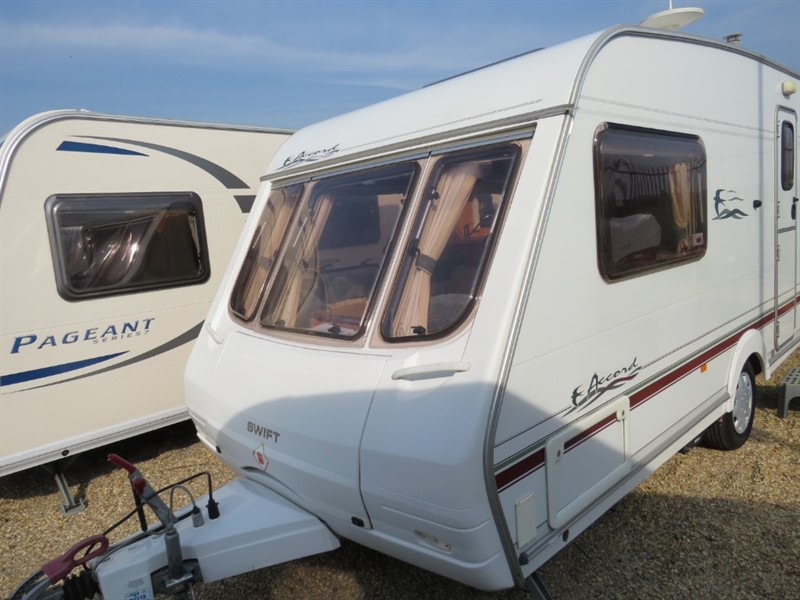 used Swift Accord 480 2 Berth Lightweight New Motor Mover in sandy-bedfordshire