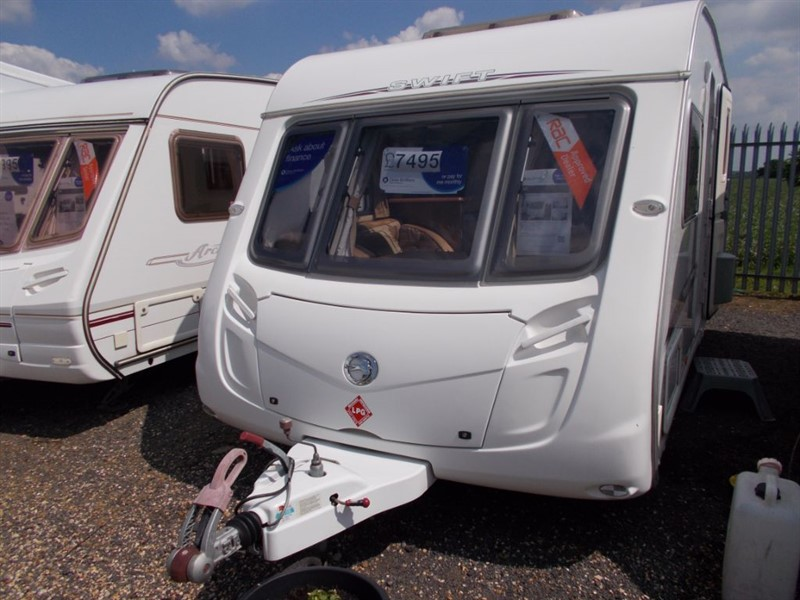 used Swift  Challenger 540 in sandy-bedfordshire