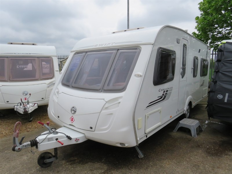 used Swift Challenger  540 Fixed Bed 4 Berth in sandy-bedfordshire