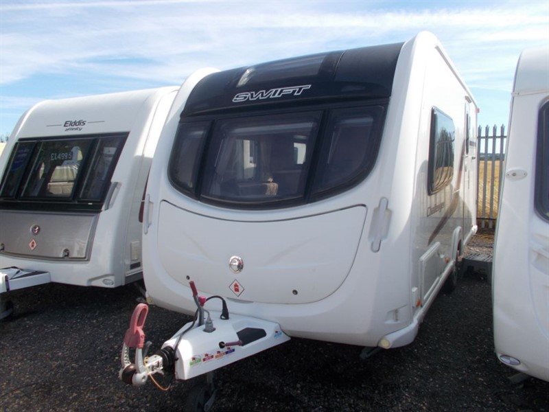 used Swift Challenger  480 2 Berth Top Spec in sandy-bedfordshire