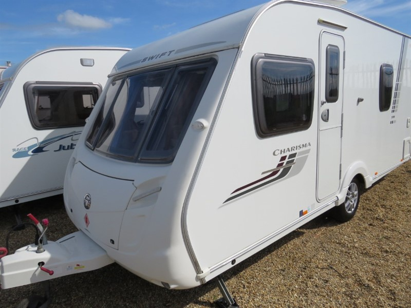 used Swift Charisma 535  Lightweight Fixed Bed 4 Berth in sandy-bedfordshire
