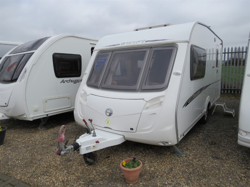 used Swift Charisma  230 2 Berth with motor mover in sandy-bedfordshire