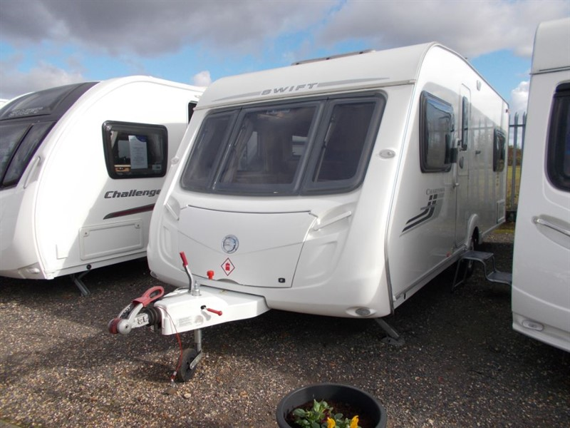 used Swift Charisma  555 Fixed Bed with motor mover and awning in sandy-bedfordshire