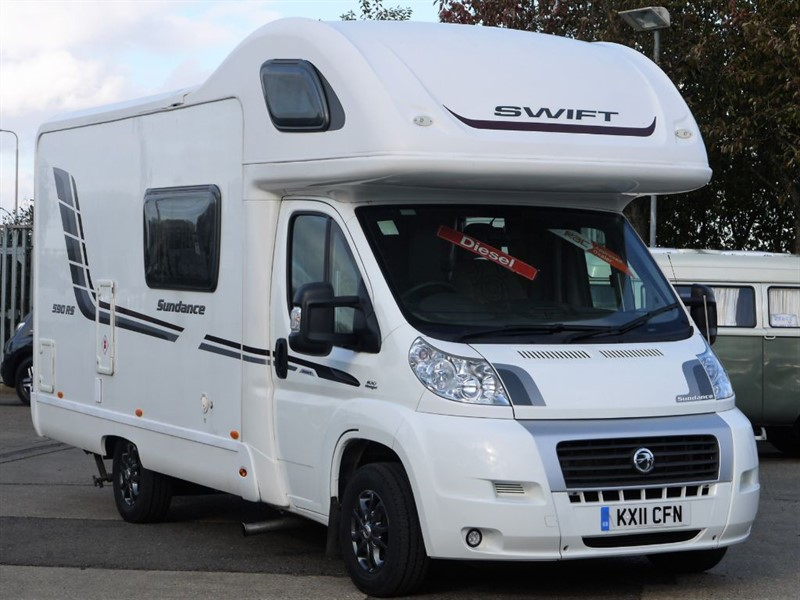 used Swift Sundance 590 RS 2.2 Diesel FULL AIR CON 4 Berth in sandy-bedfordshire