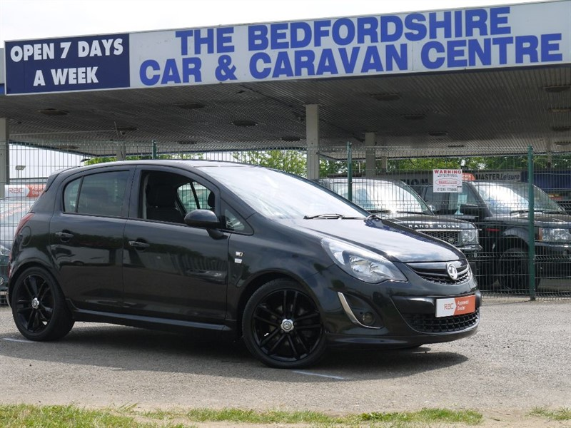 used Vauxhall Corsa BLACK EDITION in sandy-bedfordshire
