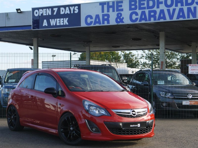 used Vauxhall Corsa SRI Flame Red in sandy-bedfordshire