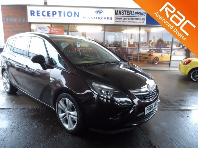 used Vauxhall Zafira Tourer 2.0 7 SEATER SRI  MPV CDTI - FSH, Low Mileage in sandy-bedfordshire
