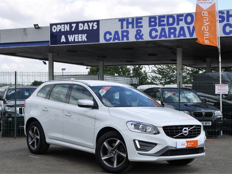 used Volvo XC60 D4 R-DESIGN LUX NAV AWD in sandy-bedfordshire