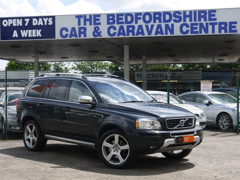 used Volvo XC90 D5 R-DESIGN AWD  7 seat automatic zero deposit in sandy-bedfordshire