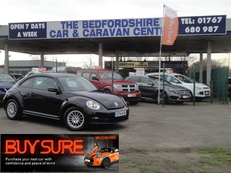 used VW Beetle TDI BLUEMOTION TECHNOLOGY in sandy-bedfordshire