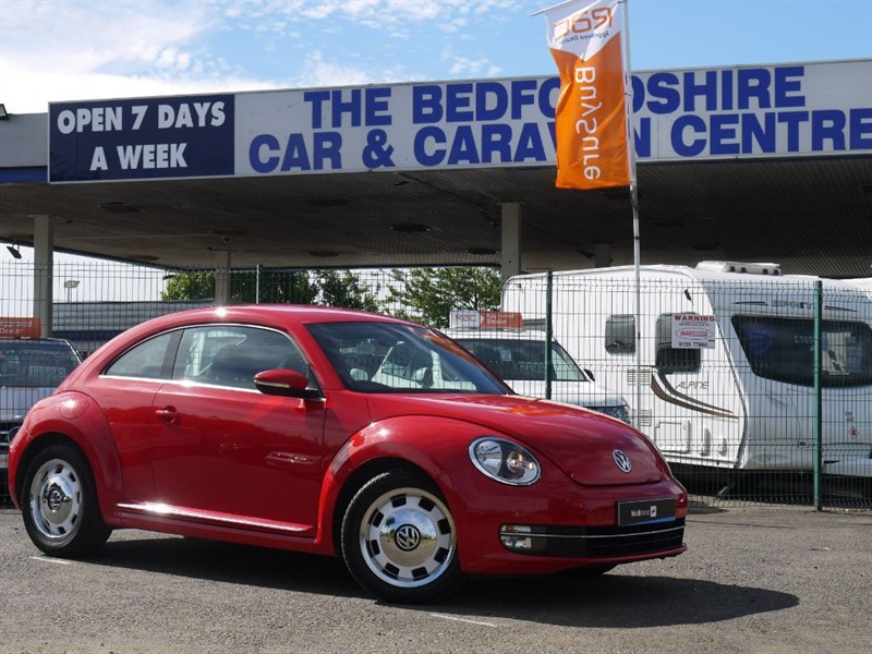 used VW Beetle DESIGN TSI in sandy-bedfordshire
