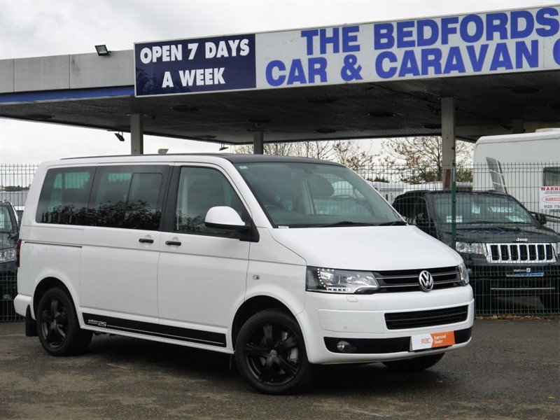used VW Caravelle EDITION 25 TDI  7 SEAT AUTO  MINIBUS -   NO VAT ! in sandy-bedfordshire