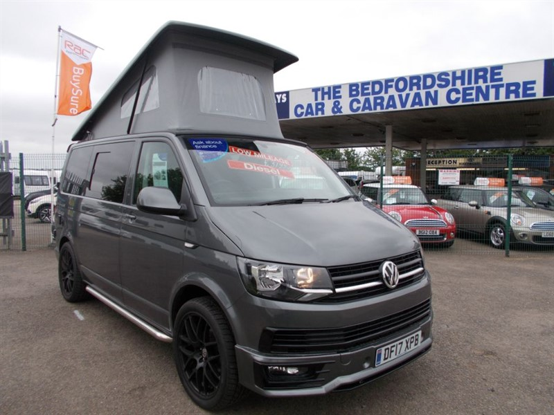 used VW  KampaKing VW T6 with Freestanding awning in sandy-bedfordshire