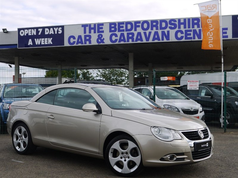 used VW Eos SPORT FSI in sandy-bedfordshire