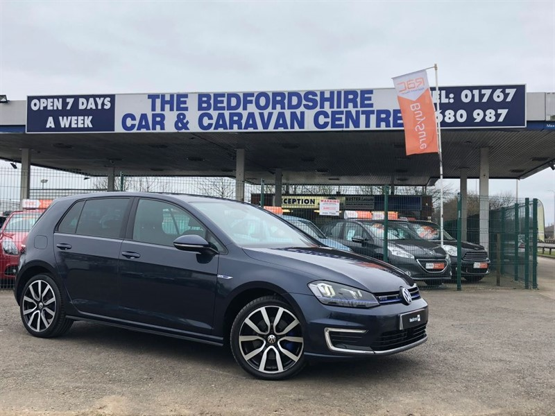 used VW Golf GTE Electric Hybrid For Sale in sandy-bedfordshire