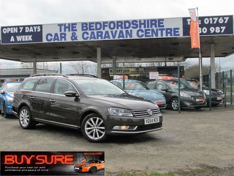 used VW Passat EXECUTIVE TDI BLUEMOTION TECHNOLOGY in sandy-bedfordshire