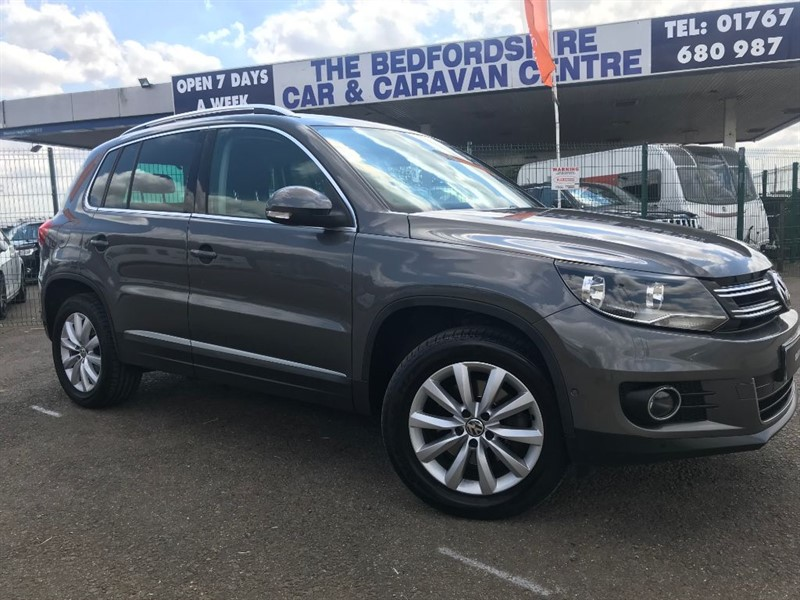 used VW Tiguan MATCH TDI BLUEMOTION TECHNOLOGY 4MOTION in sandy-bedfordshire