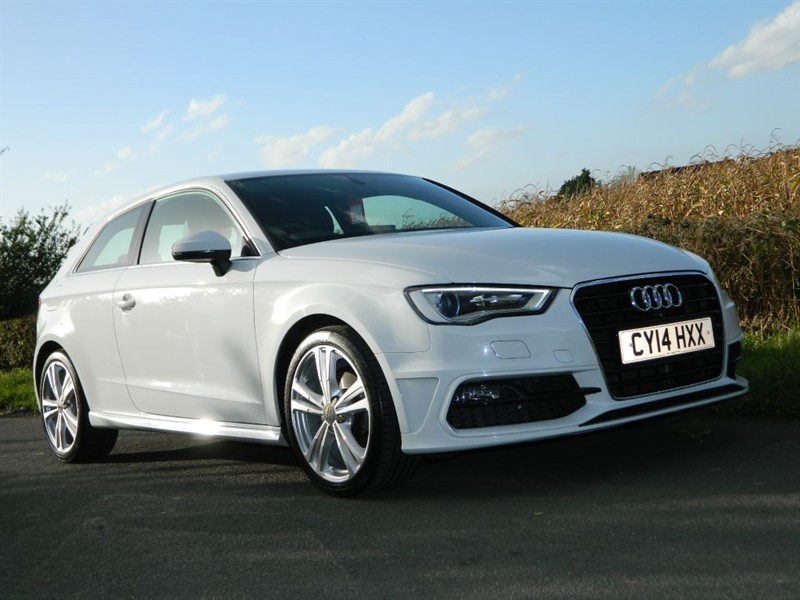 used Audi A3 TDI S LINE SAT NAV + DAB RADIO in in-preston-and-lancashire